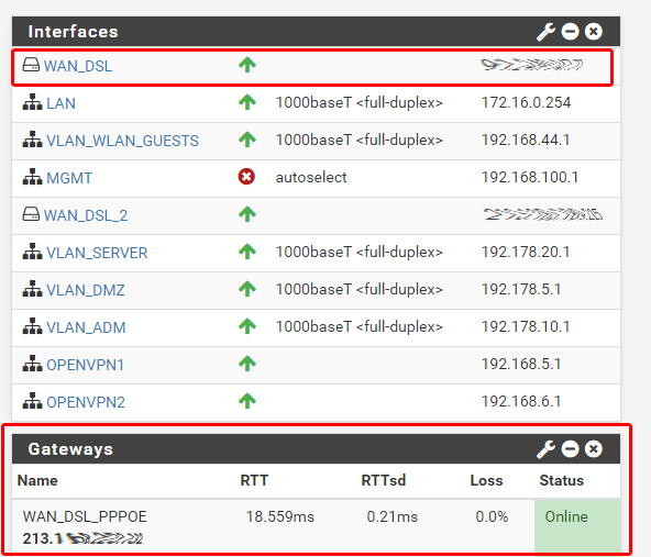 pfsense-pppoe-vdsl-connected